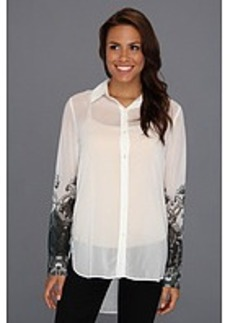 Kenneth Cole New York Terry L/S Printed Top