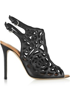 Valentino Cutout leather sandals