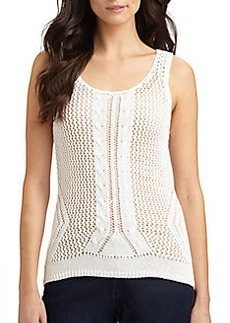 Elie Tahari Lourdes Sleeveless Sweater