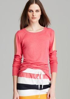 DKNY Cold Arm Raglan Sleeve Pullover