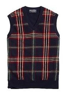 Cashmere Signature Tartan Vest