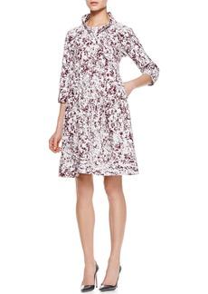 Jil Sander Reason Printed A-Line Dress
