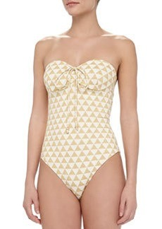 Shoshanna Palm Desert One-Piece Swimsuit