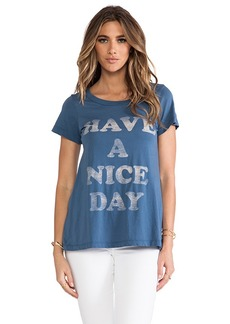 "Rebel Yell x REVOLVE ""Have A Nice Day"" Classic Crew Tee in Slate"
