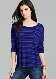 Splendid Tee - Royal Stripe