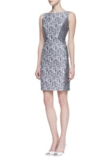 Lafayette 148 New York Deanna Sleeveless Sheath Dress