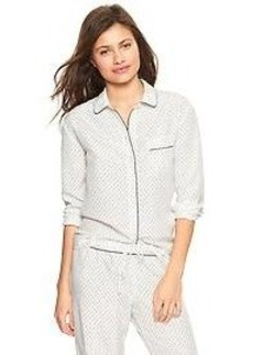 Silk dot nightshirt