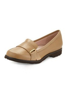 Taryn Rose Jaz Napa Leather Loafer, Camel