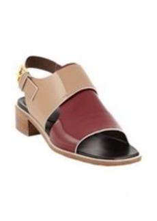 Marni Colorblock Slingback Sandal
