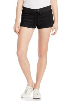 Juicy Couture Women's Solid Micro-Terry Short