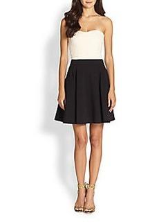 Diane von Furstenberg Avedon Strapless Fit-&-Flare Dress