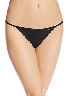 Calvin Klein Women's Sleek Model Thong Panty