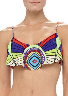 Mara Hoffman Printed Cropped Bikini Top