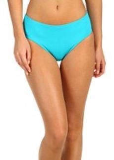Calvin Klein Solid High Waist Bikini Bottom