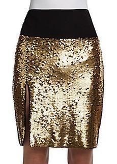 DKNY Sequined Skirt