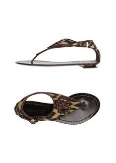 ROBERTO CAVALLI - Thong sandal