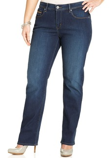 Levi's® Plus Size 512 Perfectly Shaping Straight-Leg Jeans, Milky Night Wash