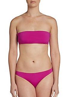 Cosabella Swim Solid Convertible Bandeau Bikini Top