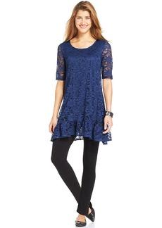 Style&co. Short-Sleeve Lace Tunic