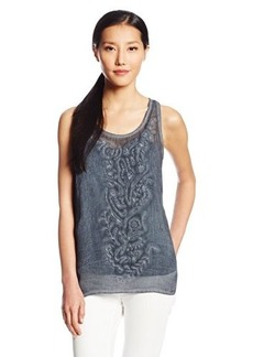 DKNY Jeans Women's Tank with Embroidery