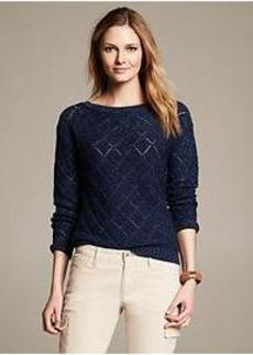 Heritage Diagonal Stitch Pullover