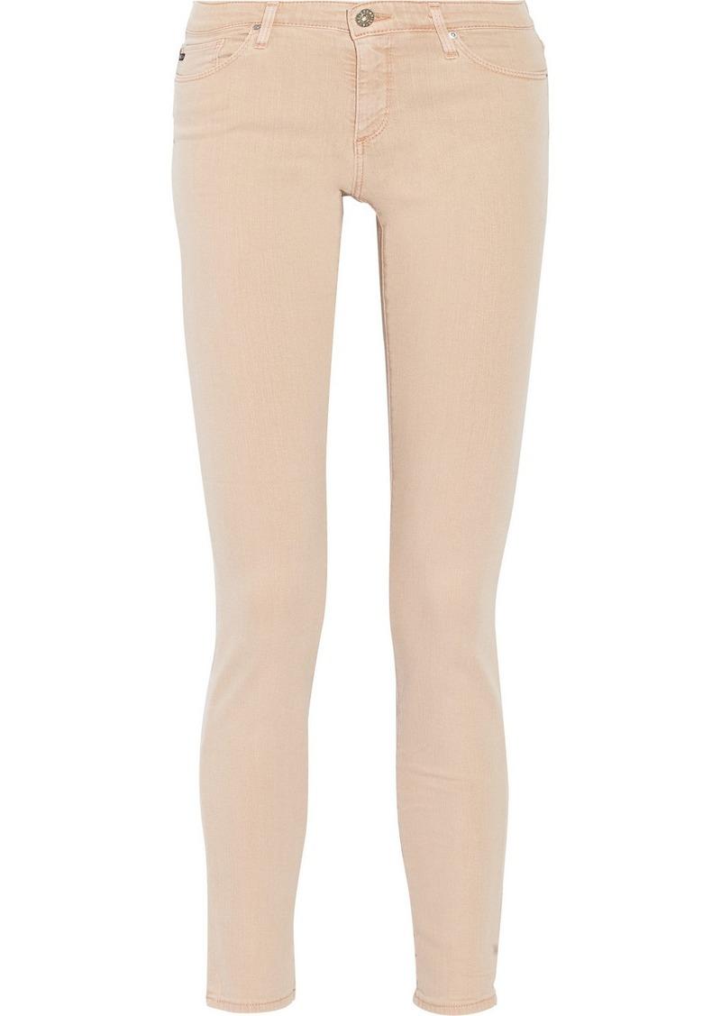 AG Jeans The Stilt mid-rise skinny jeans