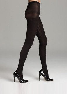 HUE Classic Rib Control Top Tights