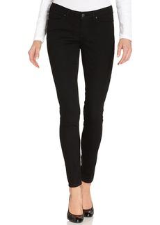 DKNY Jeans Petite Jeans, Curvy-Fit Skinny, Caviar Wash