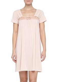 Niloufer Lace-Trim Sleep Gown   Niloufer Lace-Trim Sleep Gown