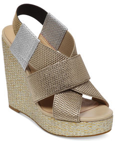 Lucky Brand Women's Rishi Platform Wedge Sandals