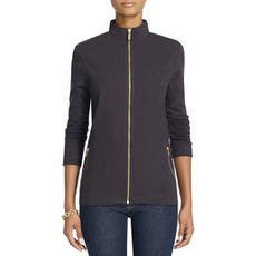 Long-Sleeve French Terry Jacket