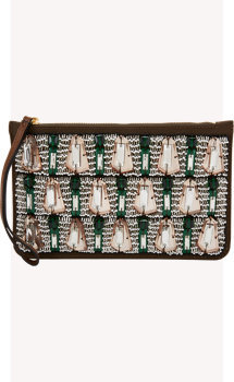 Marni Beaded Clutch