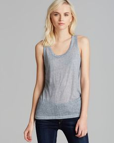 rag & bone/JEAN Tank - Striped Beater