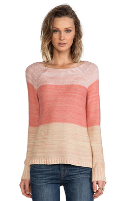 Sanctuary Ombre Sweater in Pink