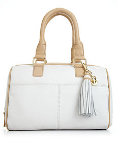 Calvin Klein Modena Leather Satchel
