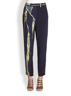 3.1 Phillip Lim Break Through Silk Pants
