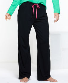 HUE Solid Long Pajama Pants