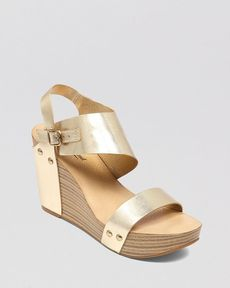 Lucky Brand Platform Wedge Sandals - Marleighh