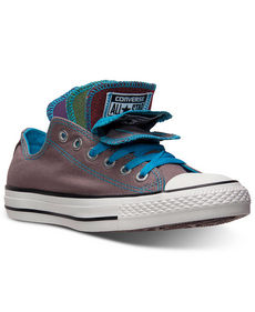 Converse Women's Chuck Taylor Multi Tongue Casual Sneakers from Finish Line
