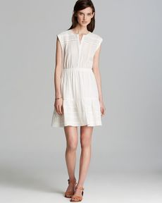 Rebecca Taylor Dress - Cap Sleeve Textured