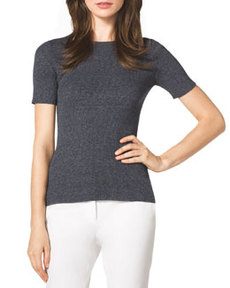 Michael Kors Ribbed Knit Top