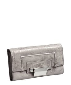 Kooba silver leather 'Turn Lock' wallet