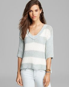 Free People Sweater - Park Slope Stripe