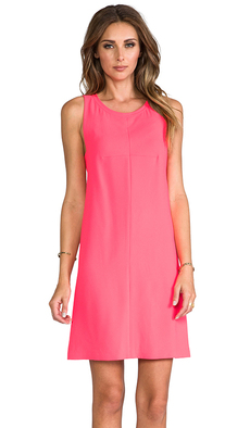 Trina Turk Lysett Dress in Coral