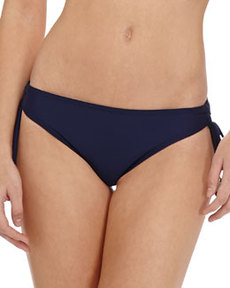 Shoshanna Tie-Side Hipster Swim Bottom
