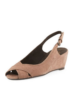 Axiom Goosebump Slingback Wedge, Haze   Axiom Goosebump Slingback Wedge, Haze