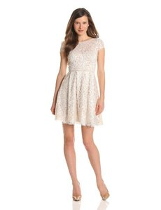 ABS by Allen Schwartz Women's Lace Dress
