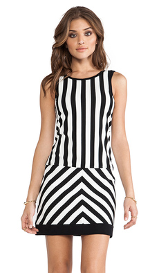 Sanctuary Mondrian Dress in Black