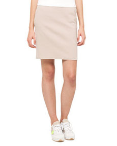 Techno Cotton Straight Skirt   Techno Cotton Straight Skirt