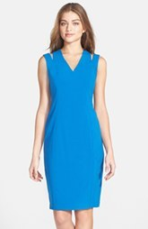 Marc New York by Andrew Marc Cutout Stretch Sheath Dress